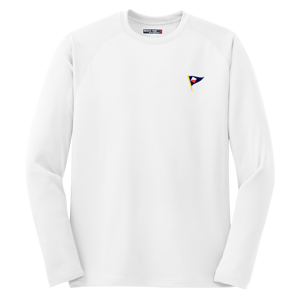 GUILFORD YACHT CLUB - M'S L/S TECH TEE