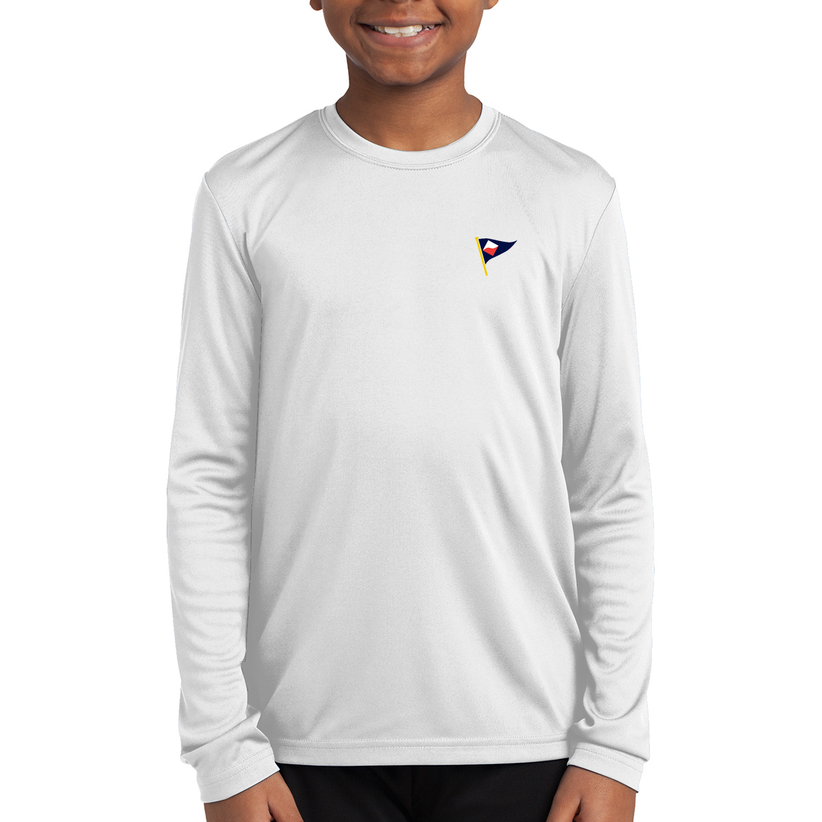 GUILFORD YACHT CLUB - K'S L/S TECH TEE
