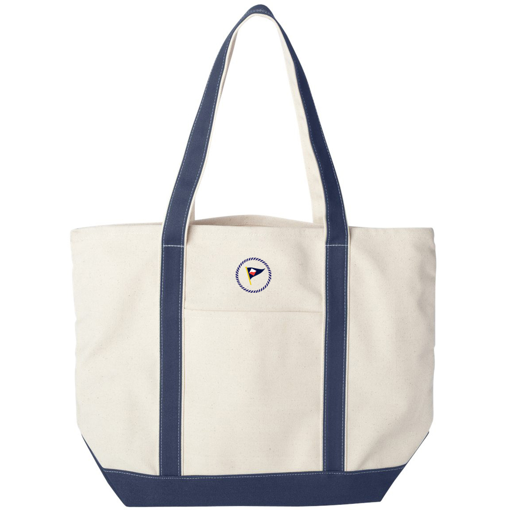 GUILFORD YACHT CLUB CANVAS TOTE