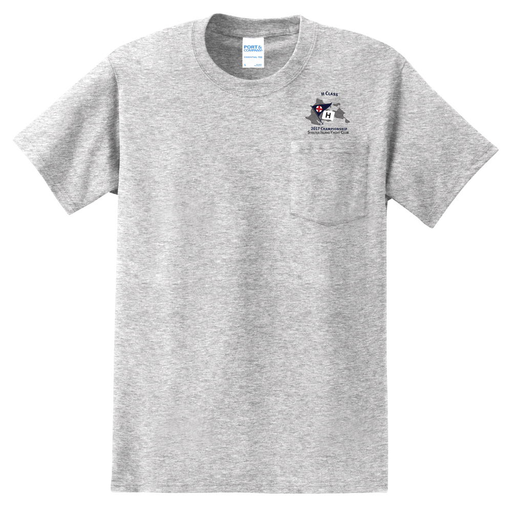 2017 H-CLASS NATIONALS Men's S/S COTTON TEE w/POCKET