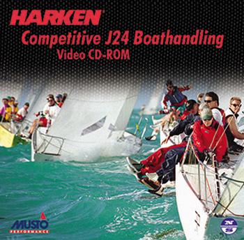 HARKEN J-24  BOAT HANDLING CD (4896)