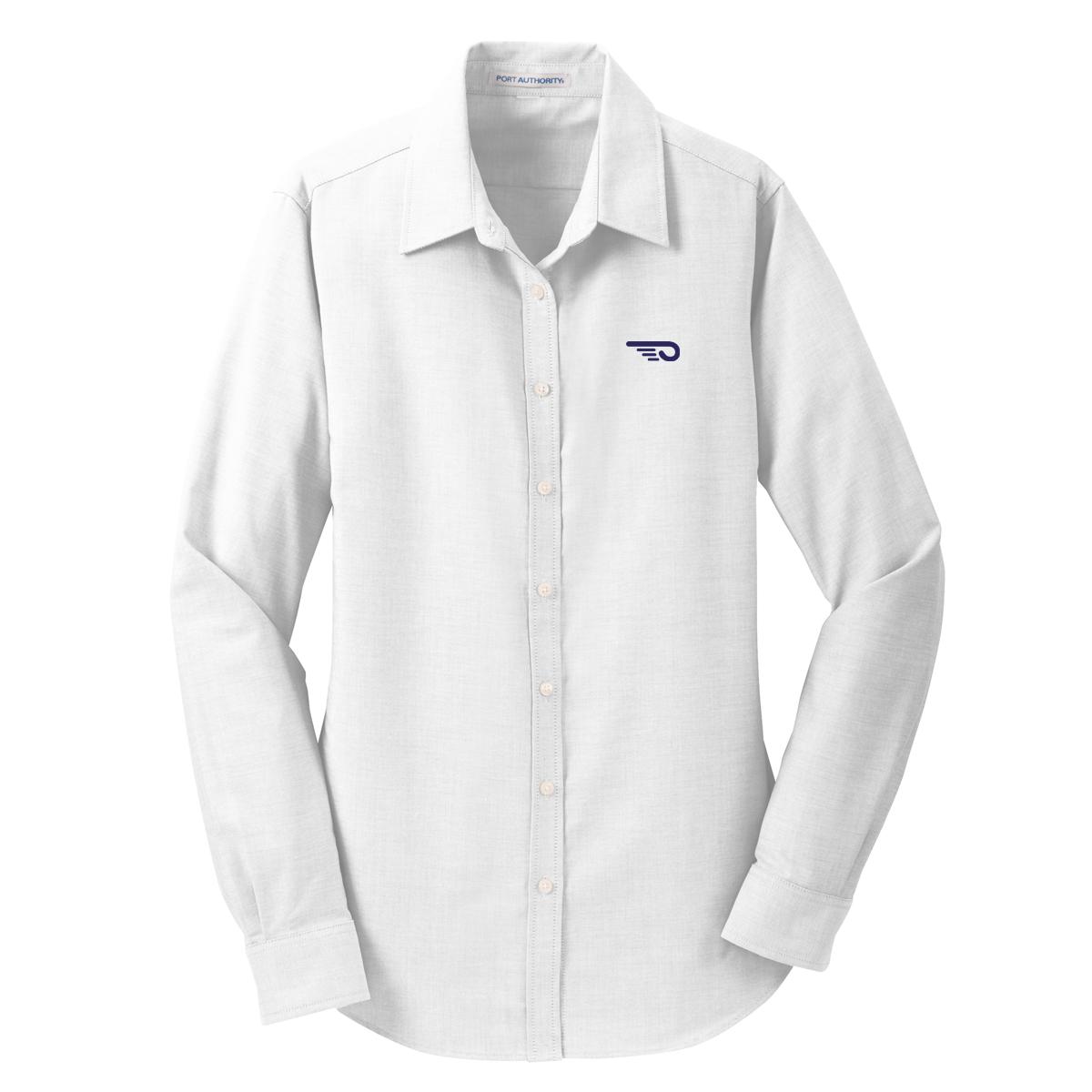 Hinckley Yachts- W's Oxford Shirt