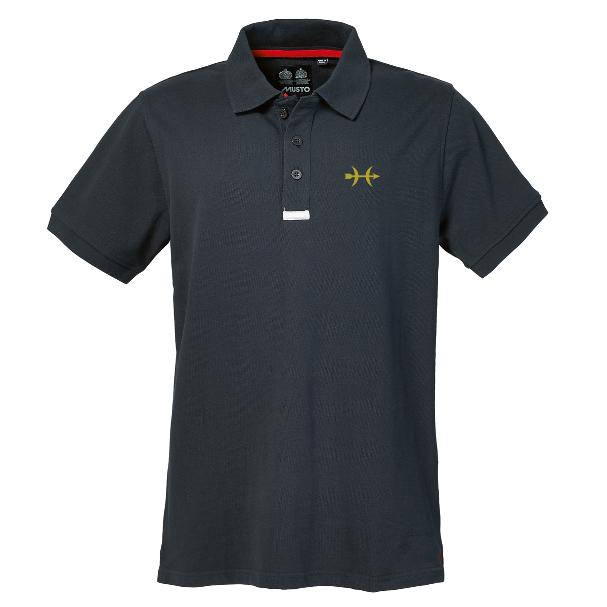 Hunt Yachts - M's Musto Cotton Polo