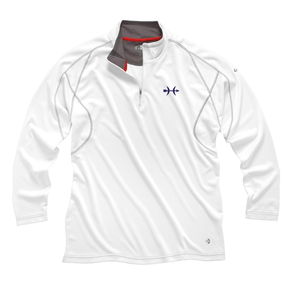 Hunt Yachts- M's Gill 1/4 Zip UV Tech Shirt