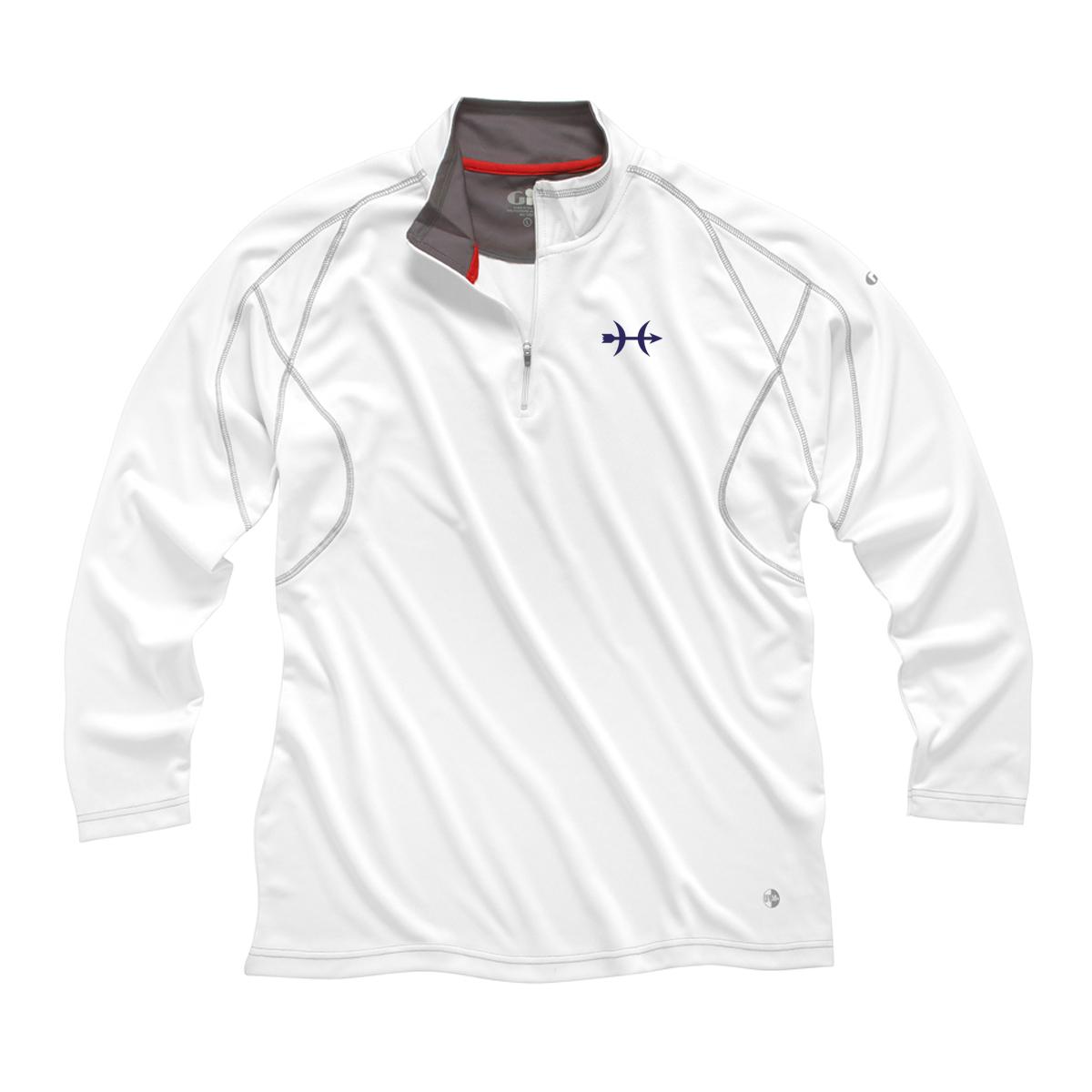 Hunt Yachts- Women's Gill 1/4 Zip UV Tech Shirt