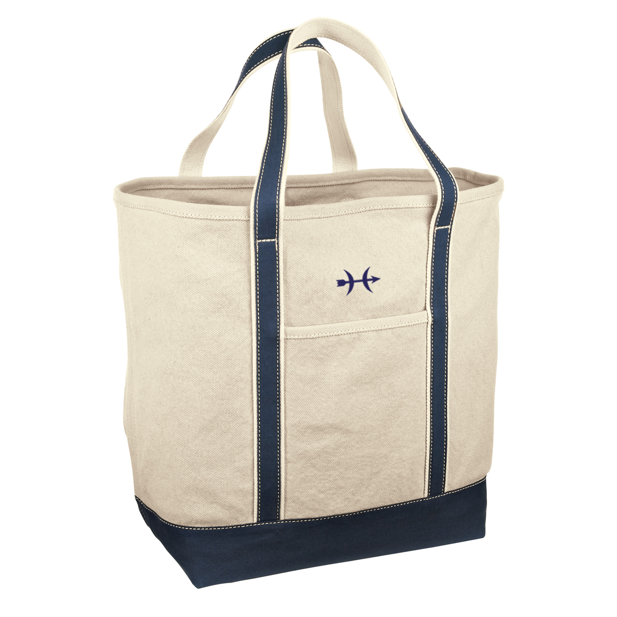 Hunt Yachts- Redhouse Canvas Tote