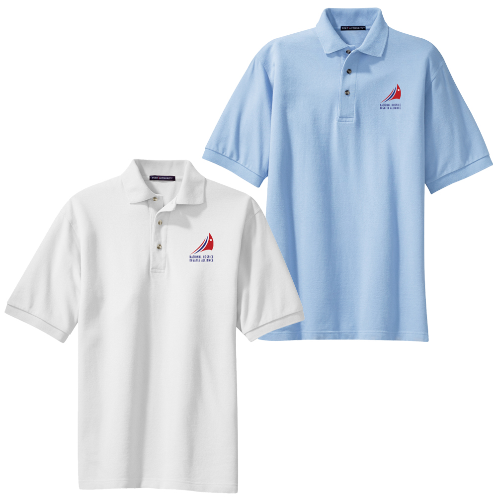 HOSPICE REGATTAS Men's COTTON POLO