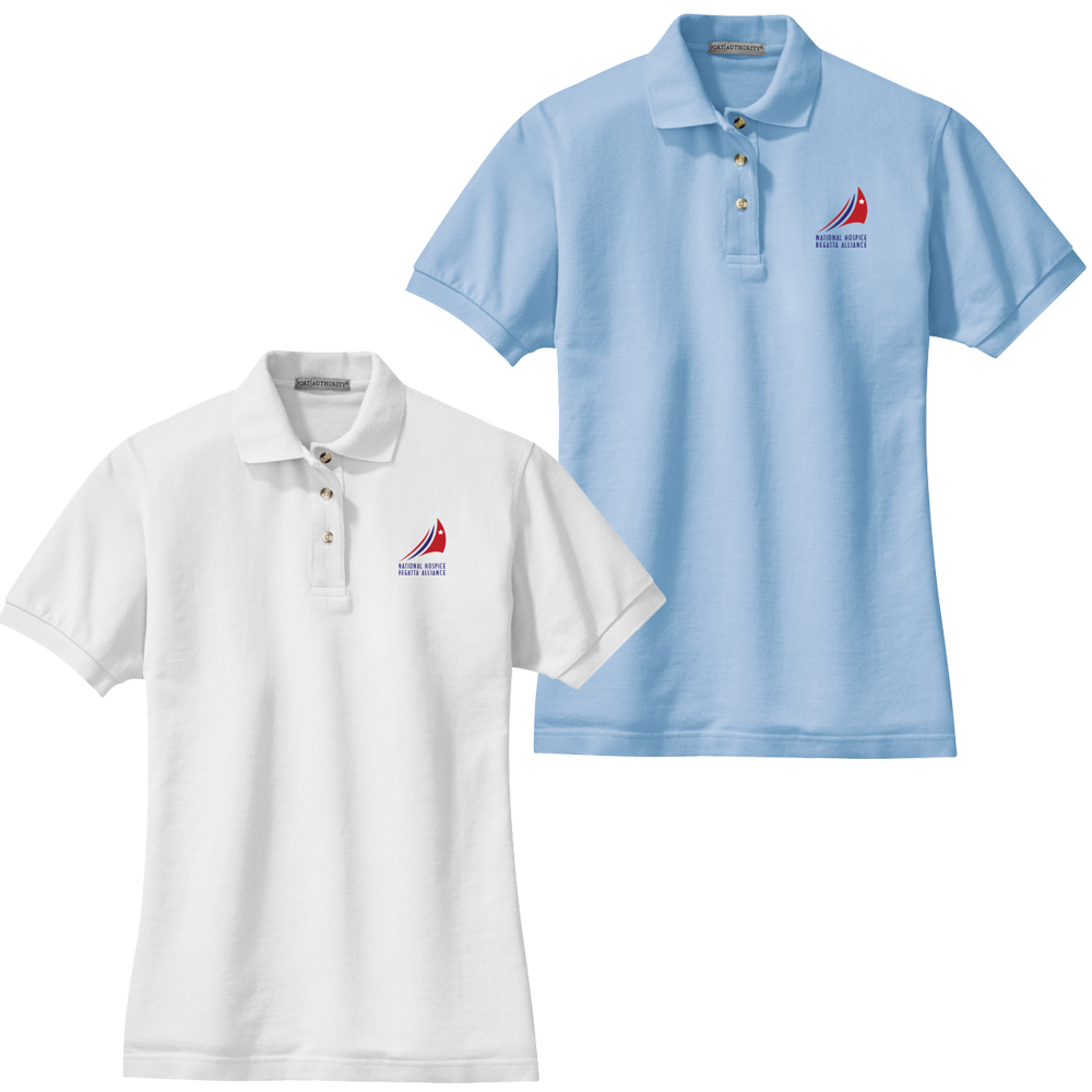 HOSPICE REGATTAS W'S COTTON POLO