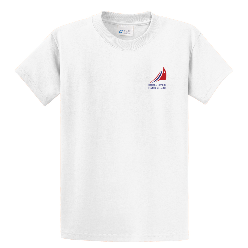 HOSPICE REGATTAS K'S S/S COTTON TEE