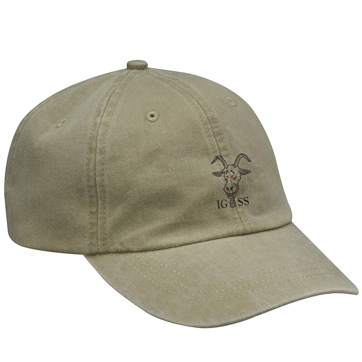 Island Goats Sailing Society - Adams Optimum Pigment-Dyed Hat