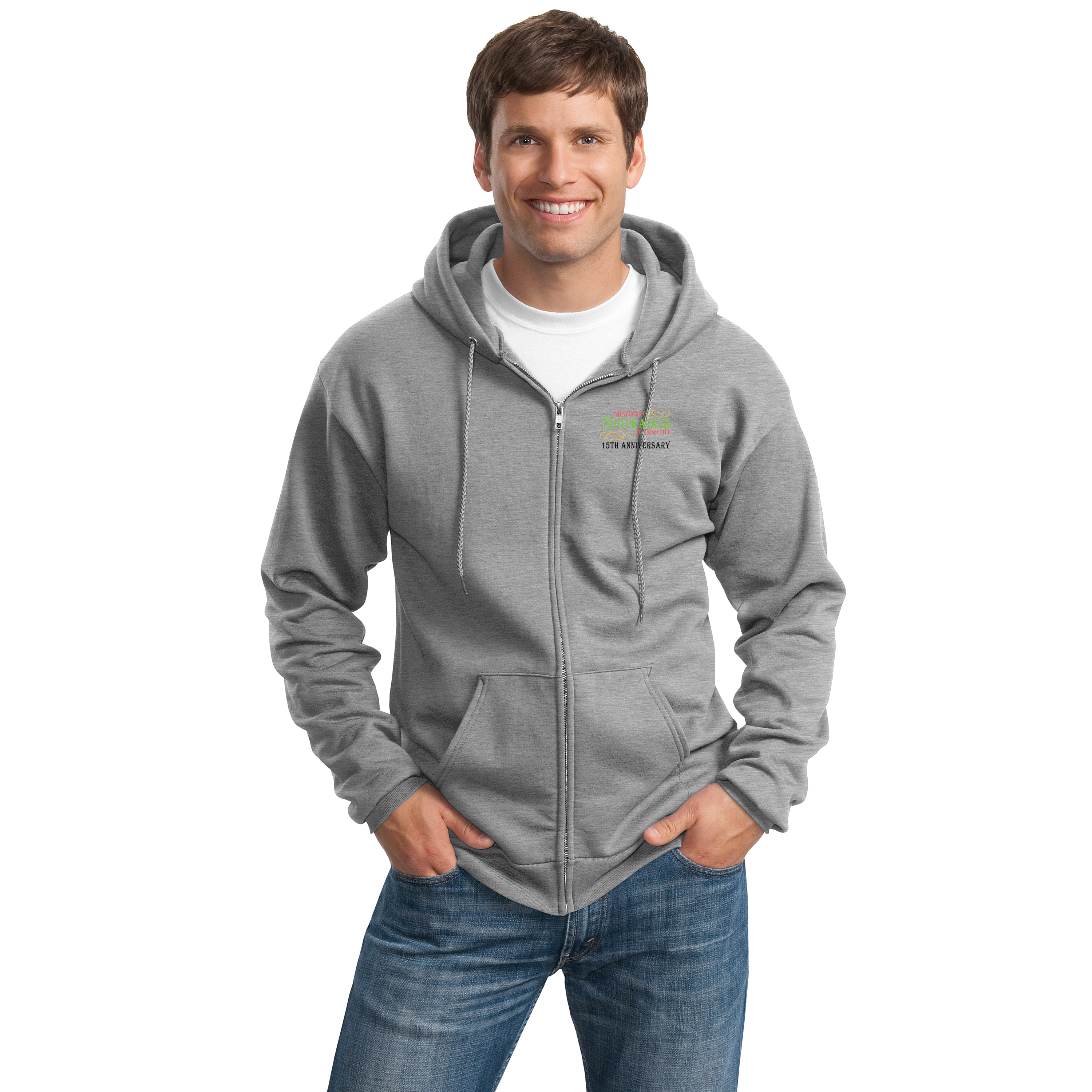 NUTCRACKER - ESSENTIAL FLEECE FULL-ZIP HOODED SWEATSHIRT
