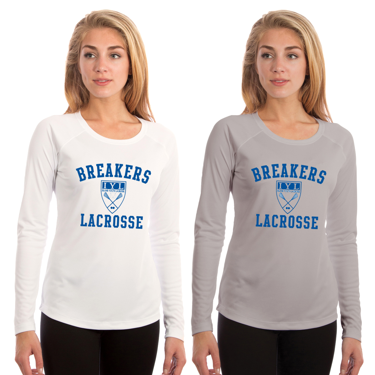 ISLAND YOUTH LACROSSE W'S L/S TECH TEE