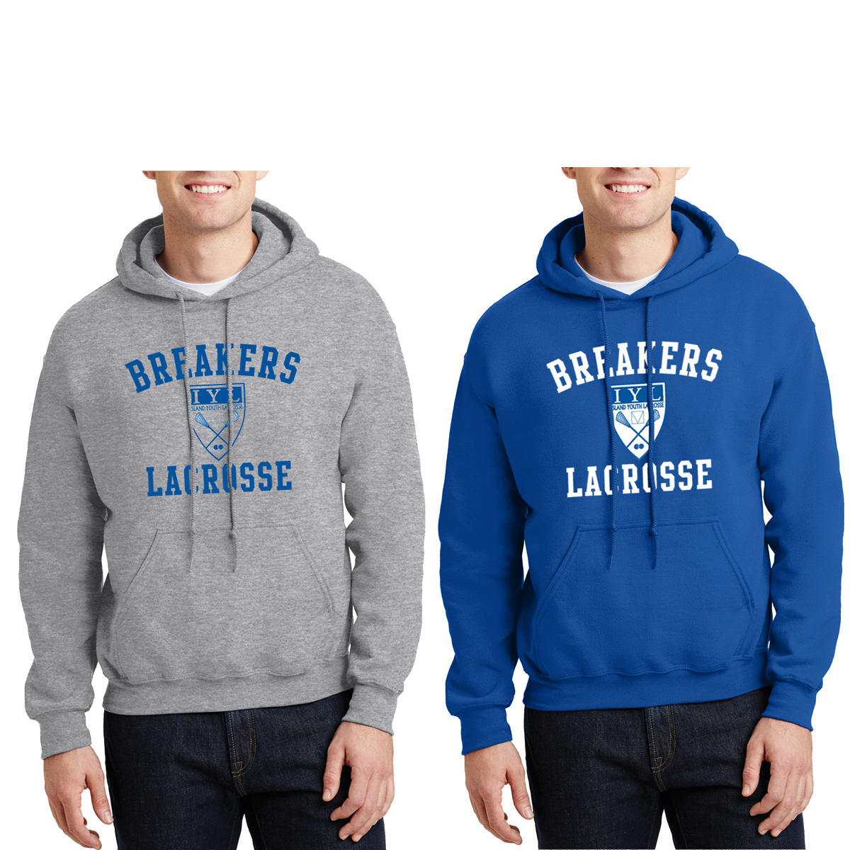 Island Youth Lacrosse - Adult Heavyweight Hoody