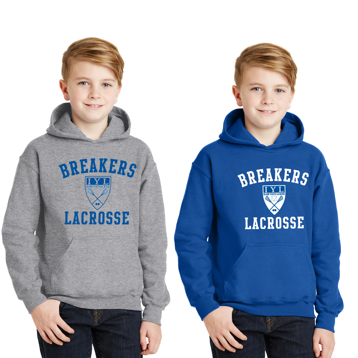 ISLAND YOUTH LACROSSE YOUTH HEAVYWEIGHT HOODY