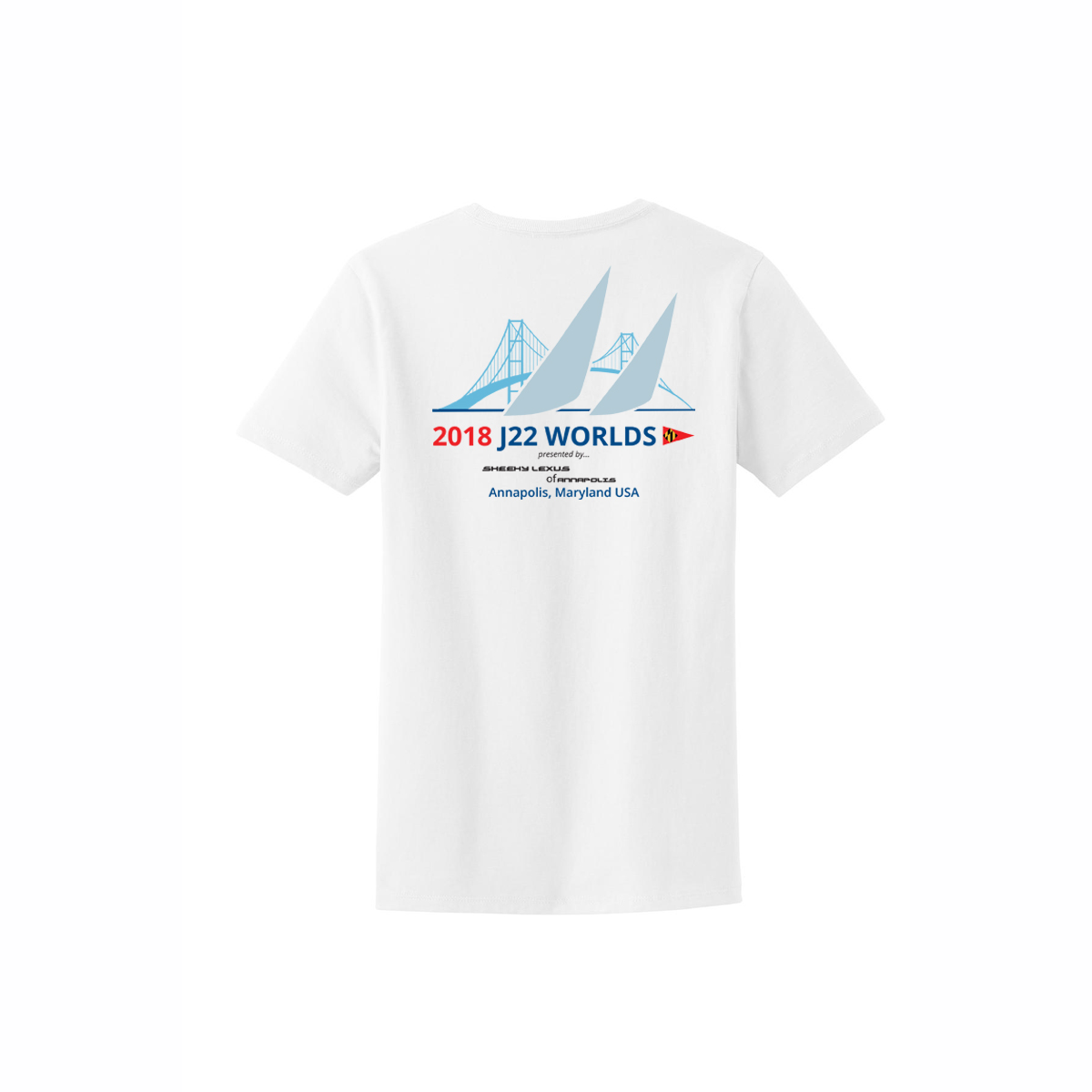 J22 WORLDS - Women's COTTON  T-SHIRT
