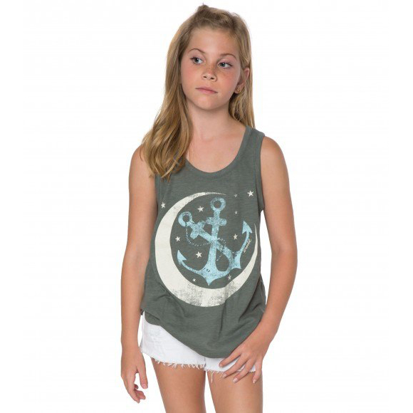 GIRLS MOON ANCHOR TANK (SP7823010)
