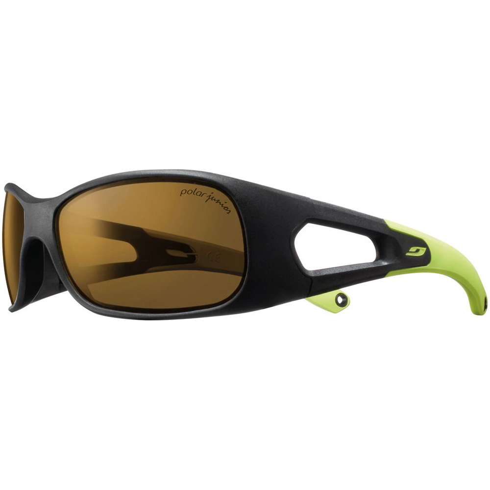 KIDS TRAINER BLACK/GREEN  POLARIZED