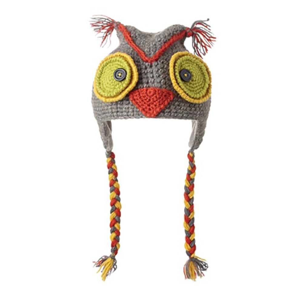 KNITWITS ORIGINALS CROCHET OWL ANIMAT HAL (AK1054)