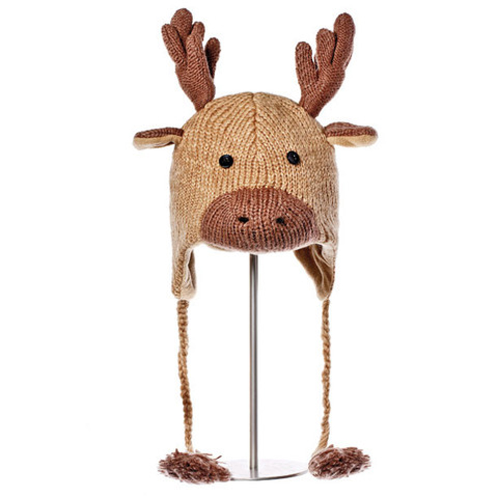 KNITWITS ORIGINALS MANNY THE MOOSE PILOT HAT (AK1229)