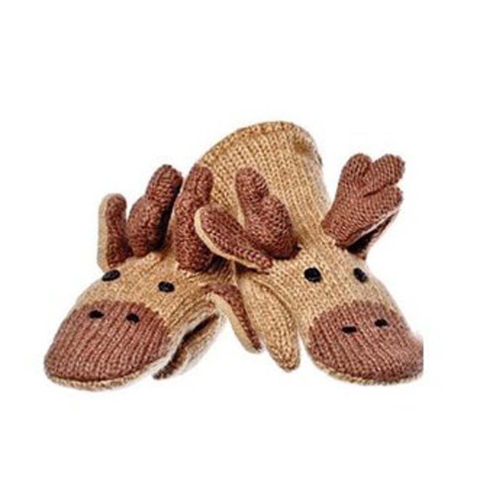Knitwits Originals Manny the Moose Mittens (AK2229)