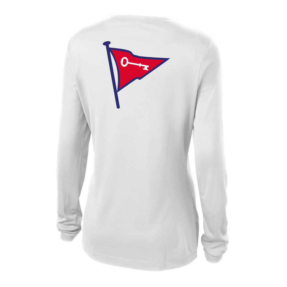 Keyport Yacht Club - Women's Long Sleeve Tech Tee