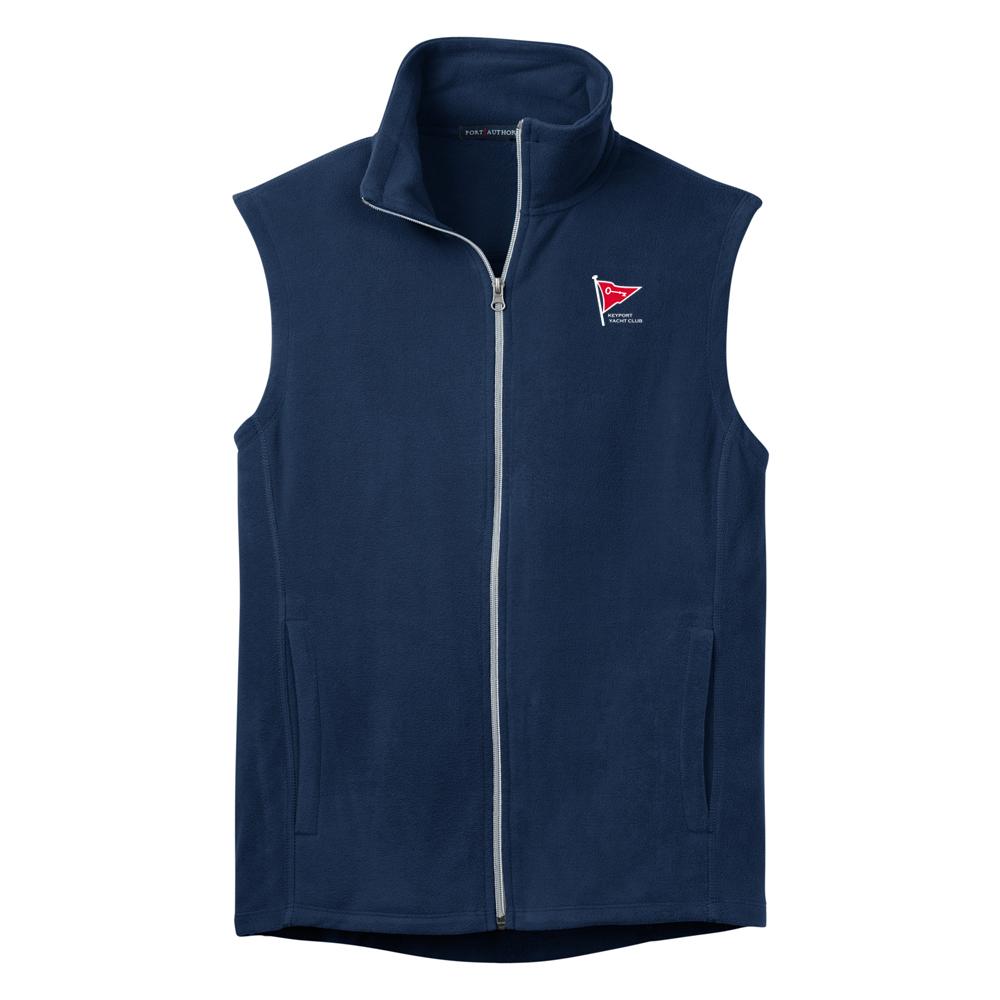 Keyport Yacht Club - Men's Fleece Vest (KYC520)