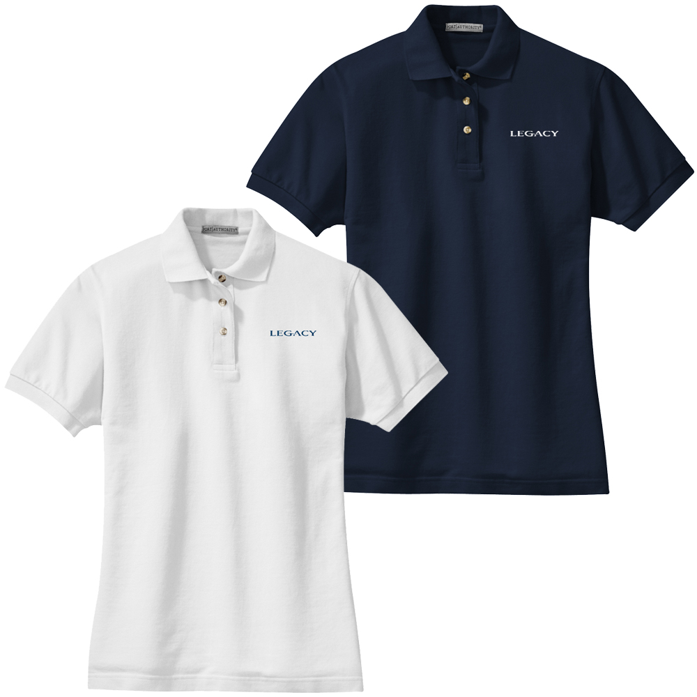 LEGACY W'S COTTON POLO