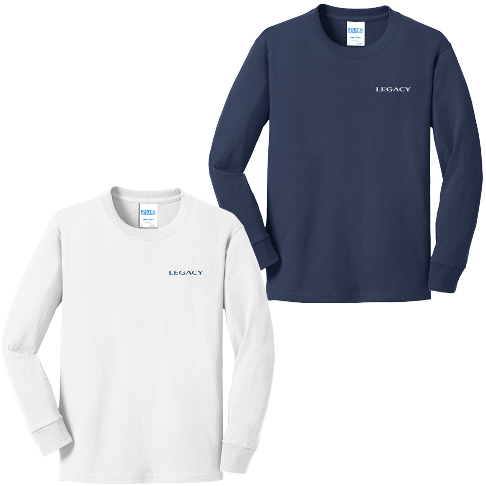 Legacy Yachts - Youth Long Sleeve Cotton Tee