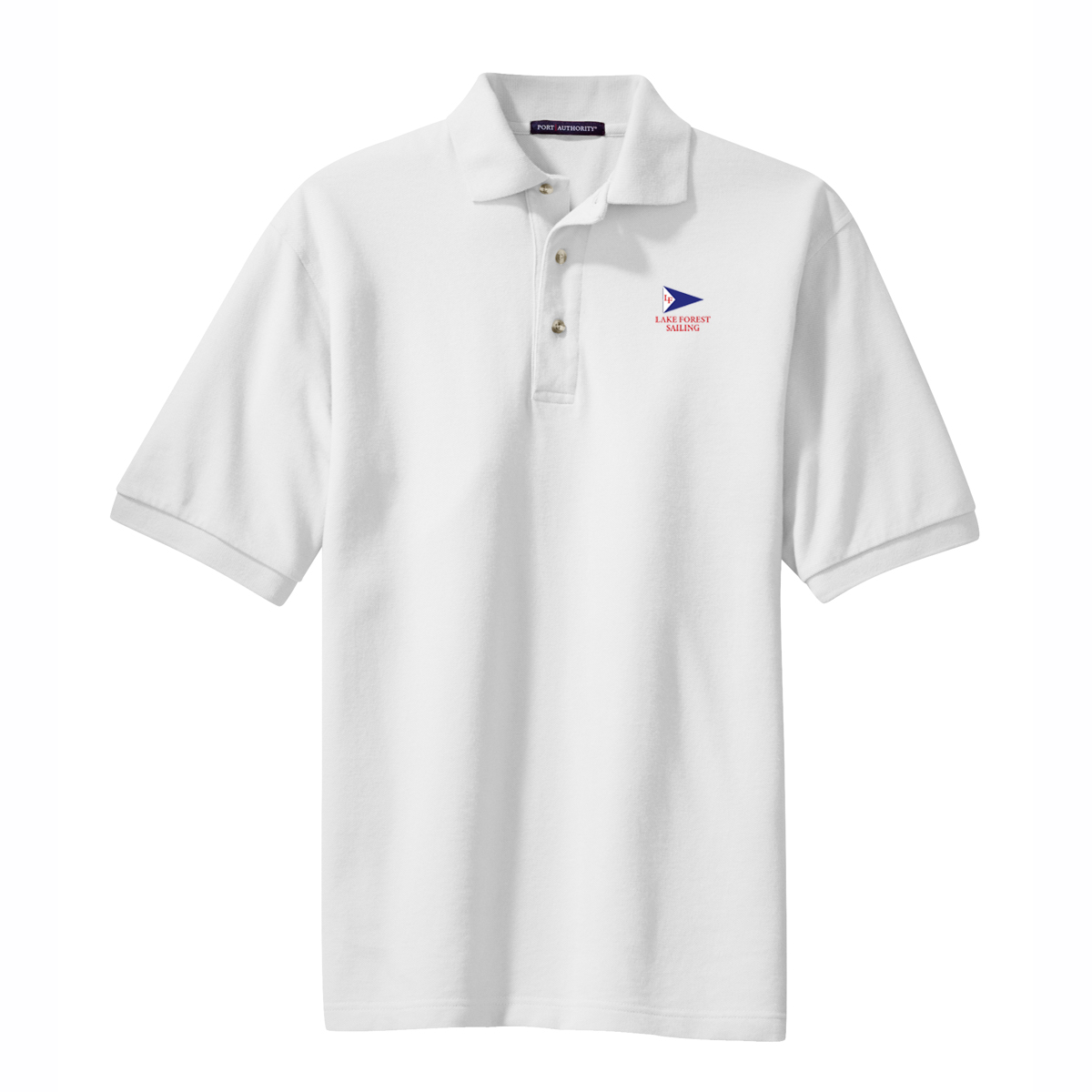 LAKE FOREST SAILING M''S COTTON POLO