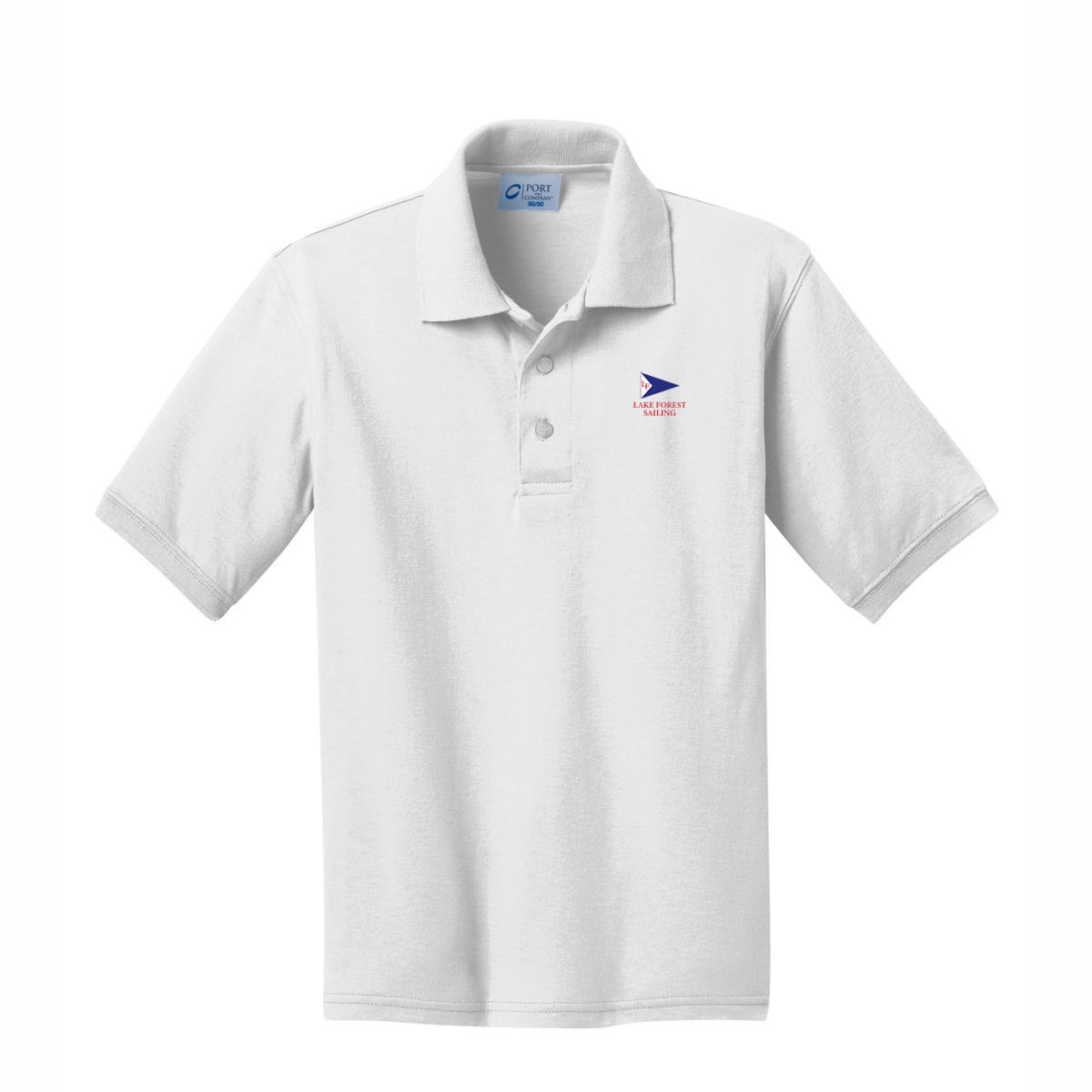 Lake Forest Sailing - Kid's Cotton Polo