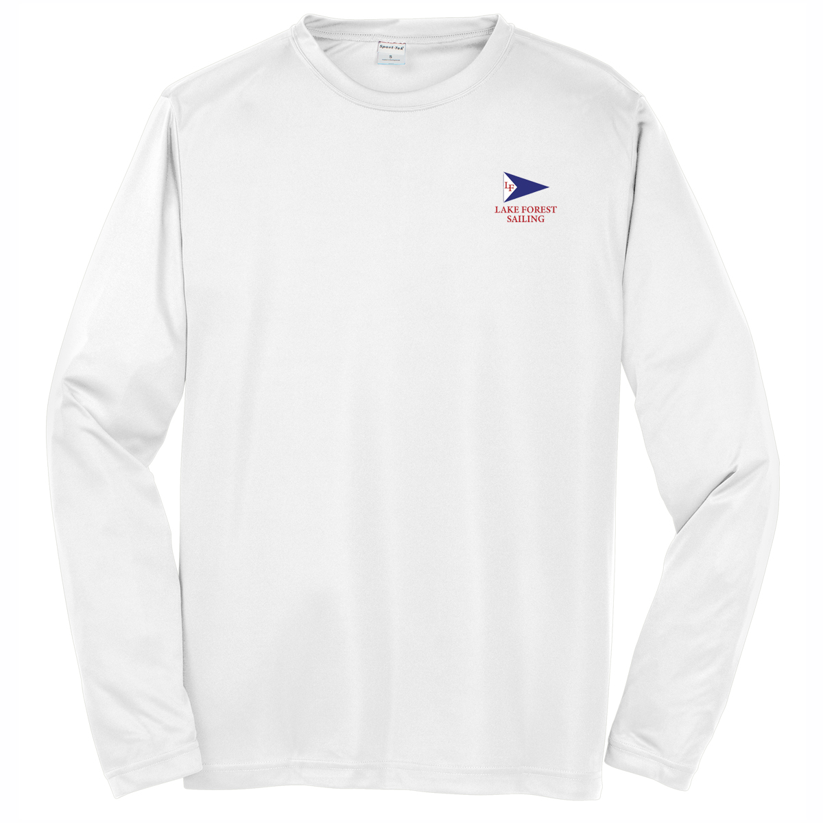 LAKE FOREST SAILING M'S L/S TECH TEE