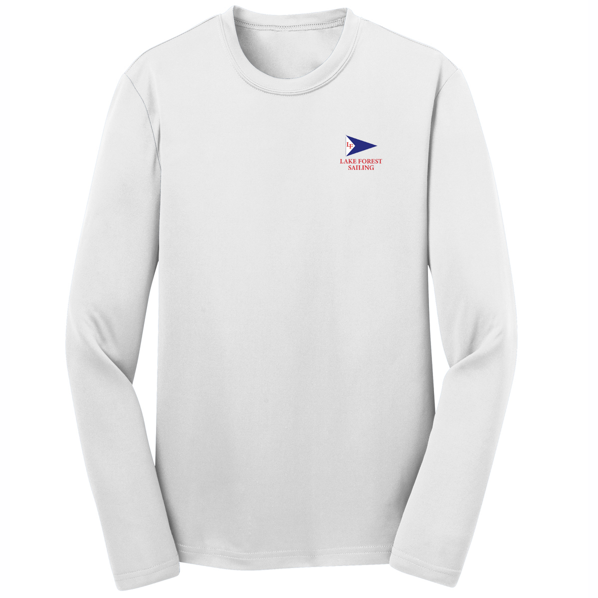 LAKE FOREST SAILING K'S L/S TECH TEE