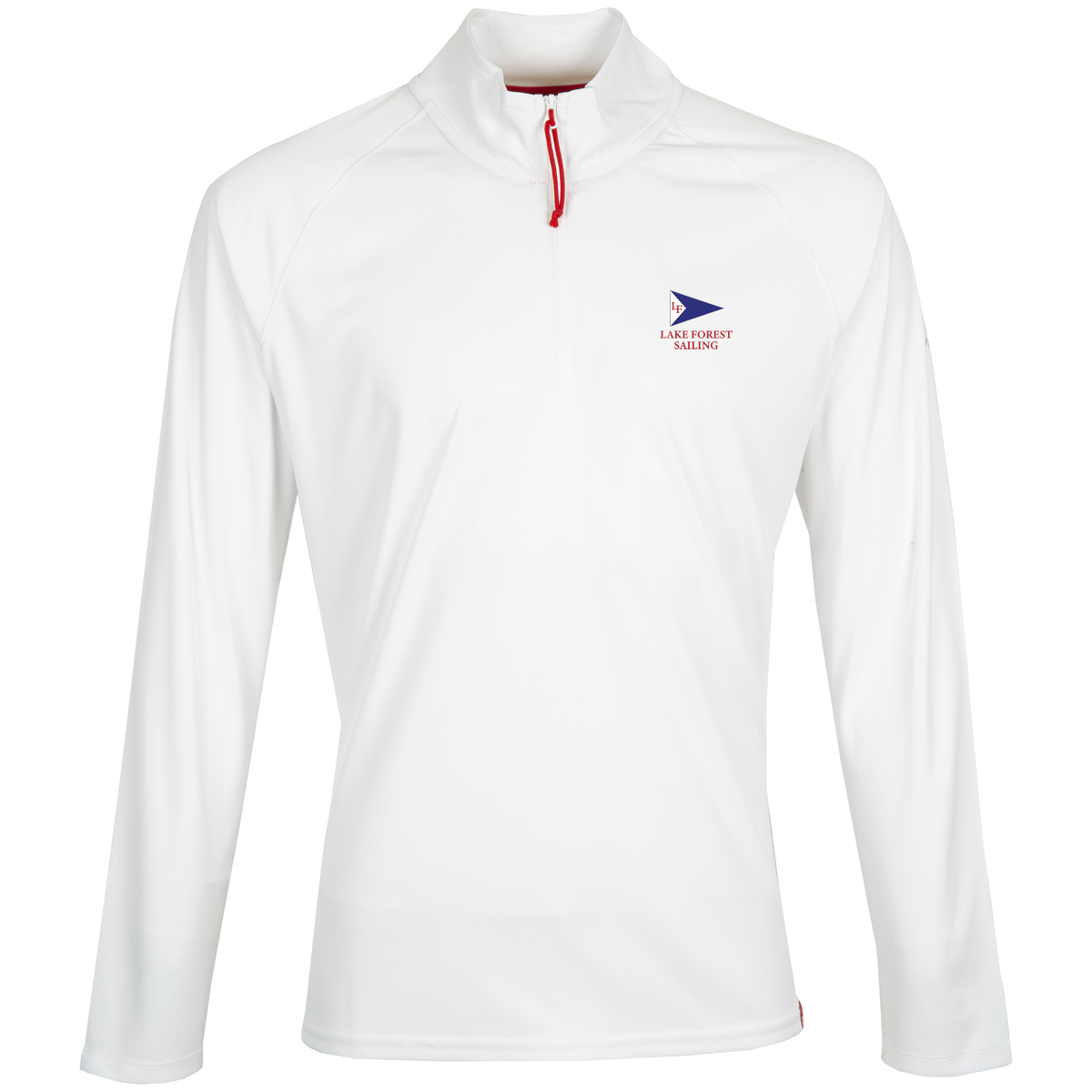 LAKE FOREST SAILING M'S GILL 1/4 ZIP PULLOVER