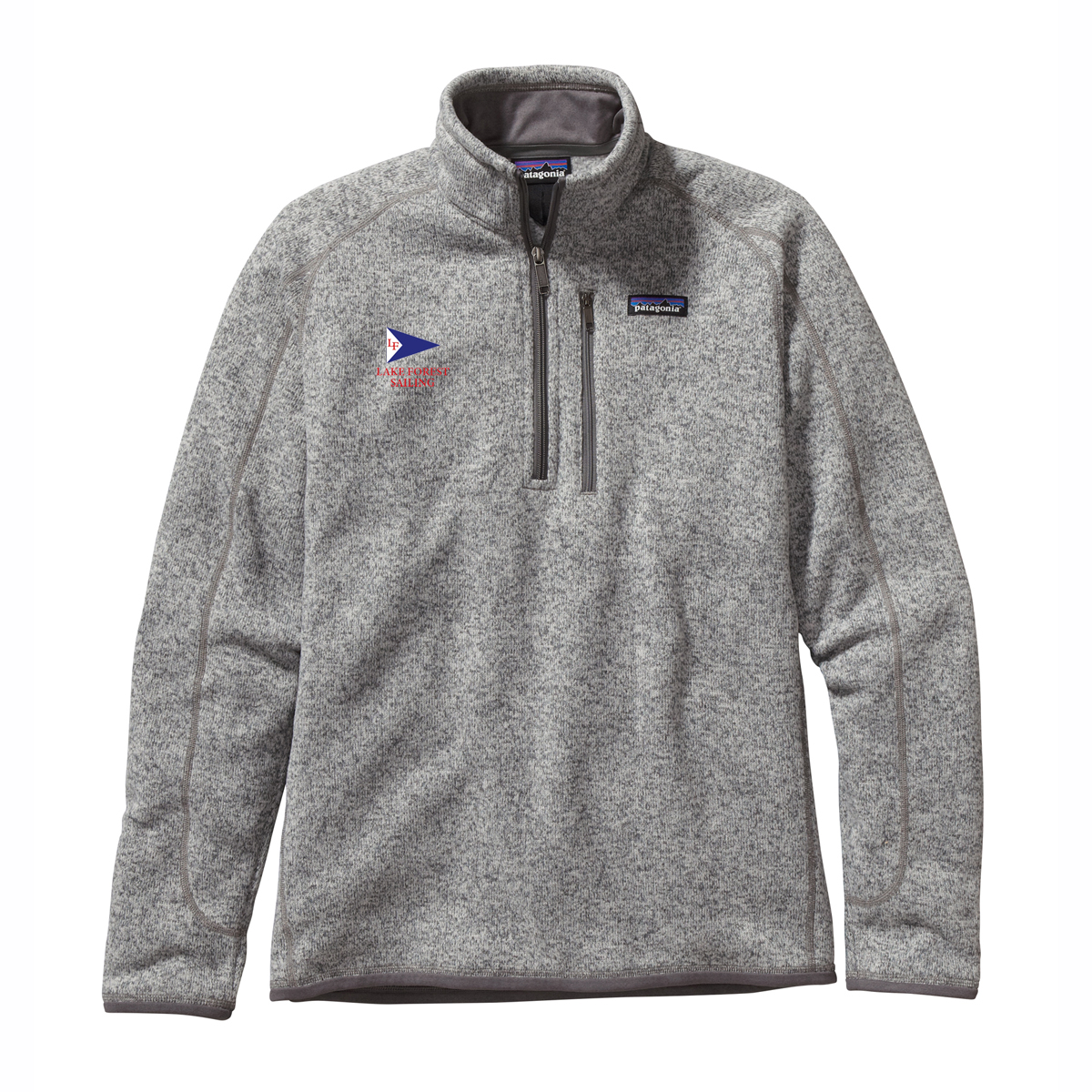LAKE FOREST SAILING M'S PATAGONIA BETTER SWEATER 1/4 ZIP