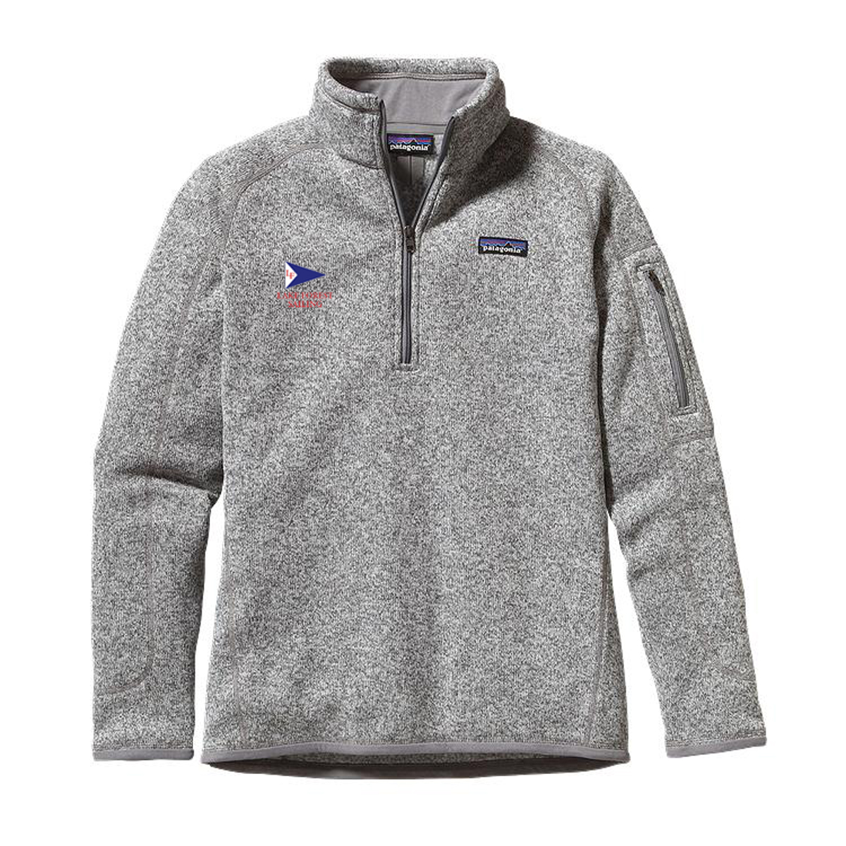 LAKE FOREST SAILING W'S PATAGONIA BETTER SWEATER 1/4 ZIP