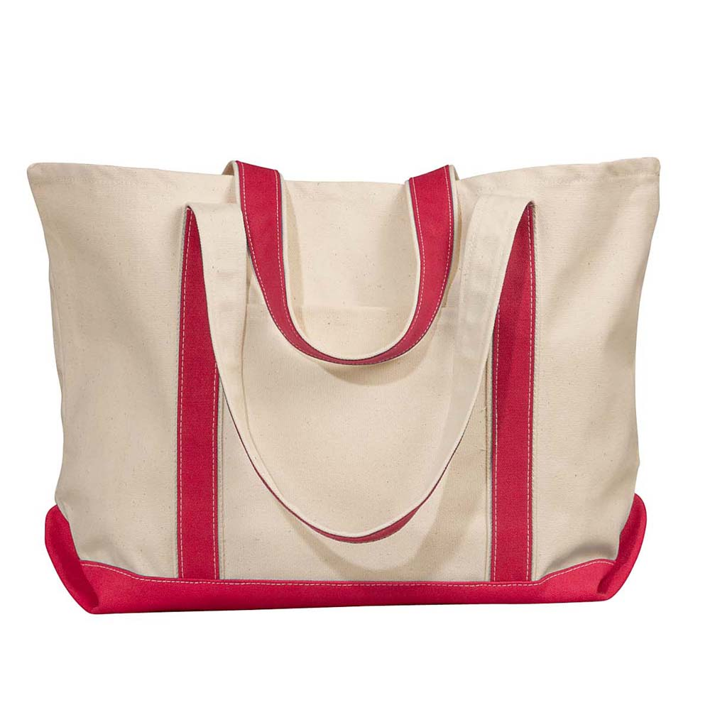 LIBERTY BAGS CARMEL CANVAS TOTE (8872)