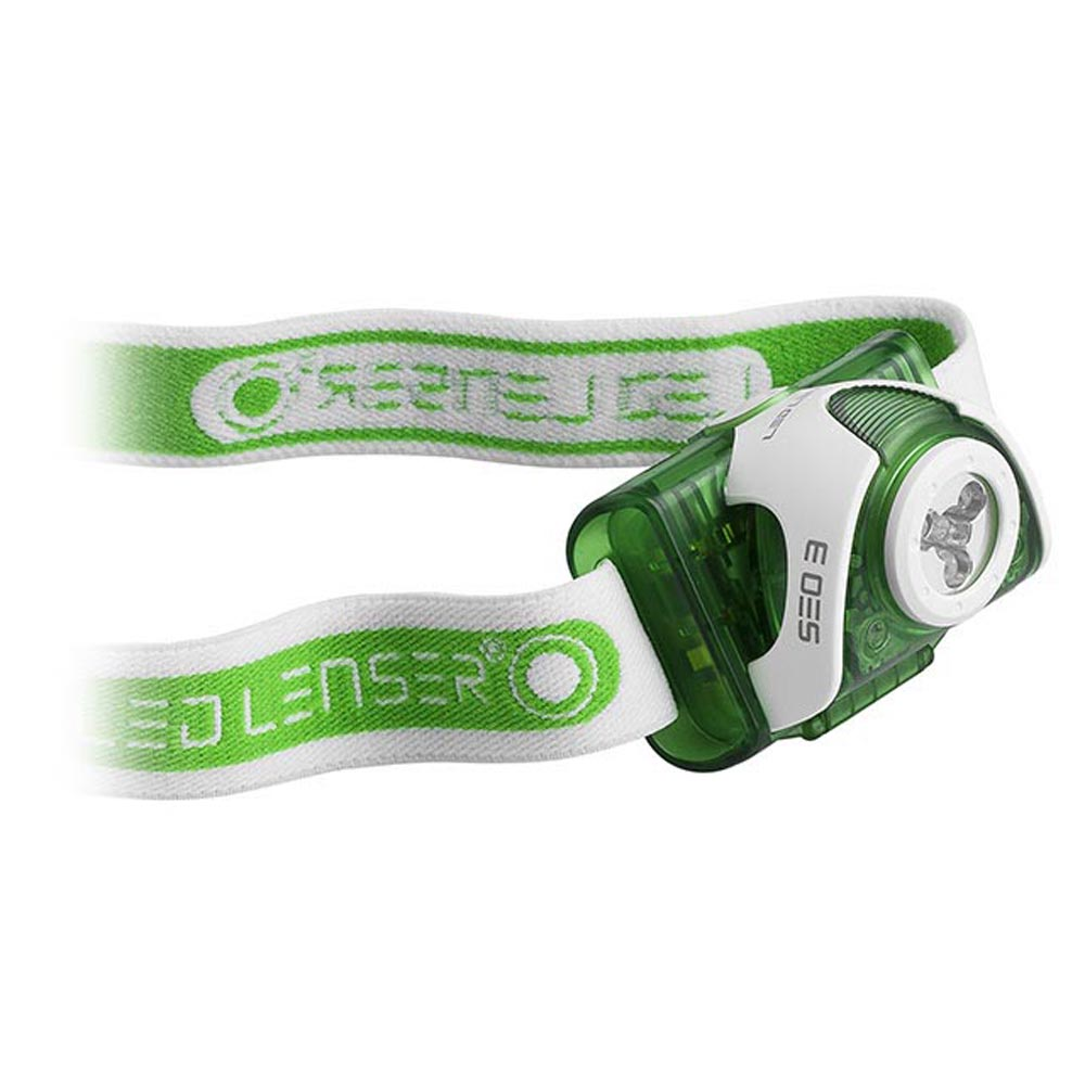 LED LENSER SEO 3 GREEN HEADLAMP (880126)