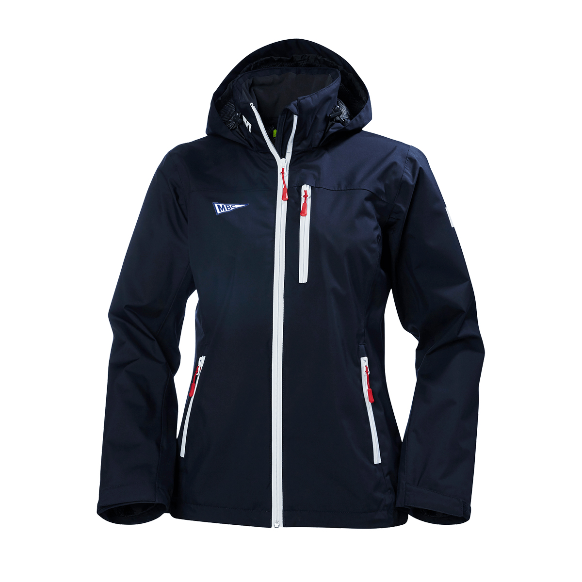 Monmouth Boat Club - Women's Helly Hansen Hooded Crew Jacket