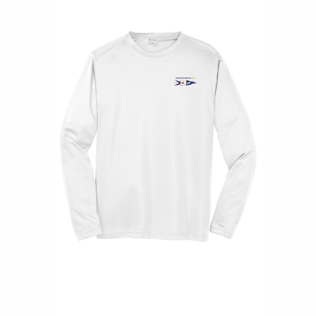 MBR  19 M'S L/S TECH TEE PAINTING