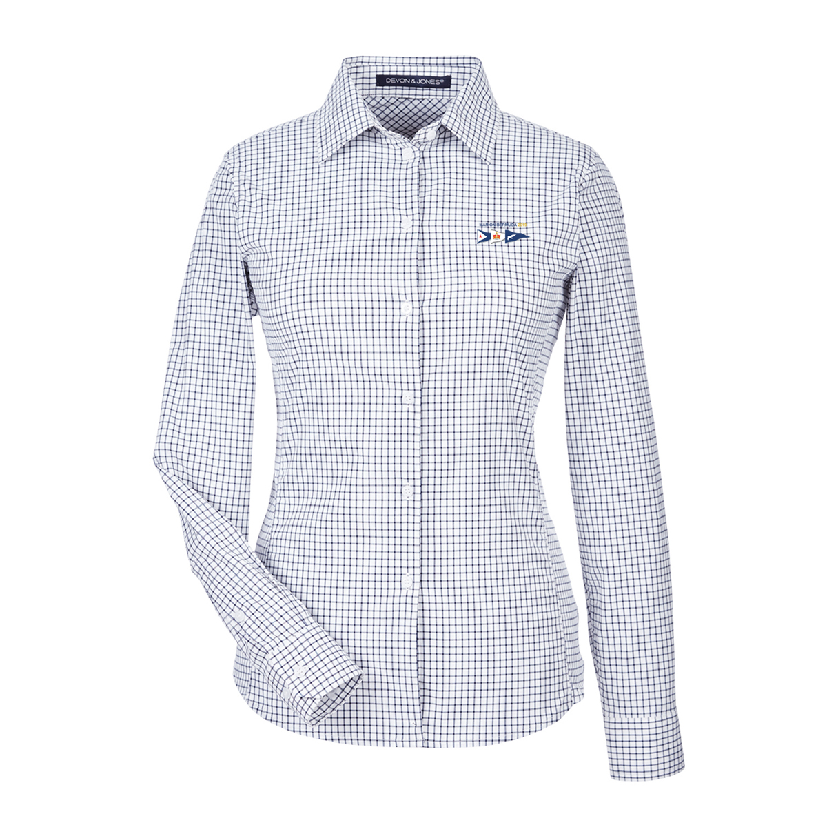 MBR  19 W'S WINDOWPANE BUTTON DOWN