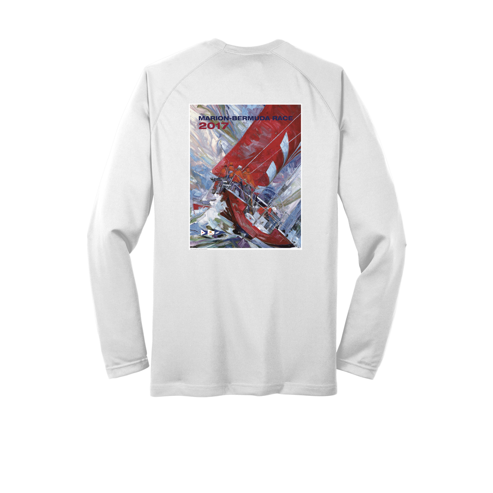MARION-BERMUDA 2017 - PAINTING TECH TEE L/S