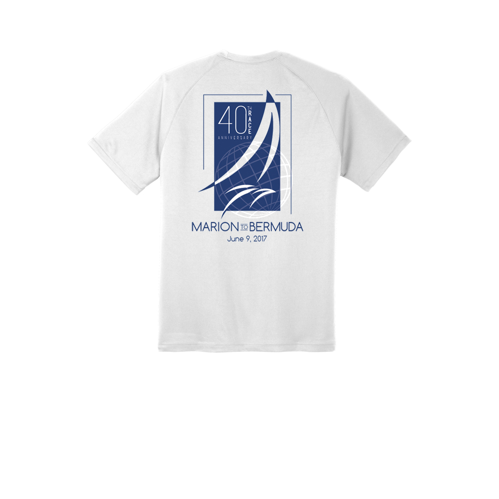 MARION-BERMUDA 2017 - S/S 40TH TECH TEE