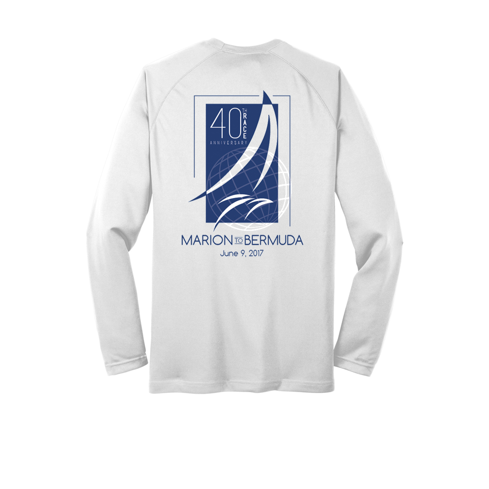 MARION-BERMUDA 2017 - L/S 40TH TECH TEE