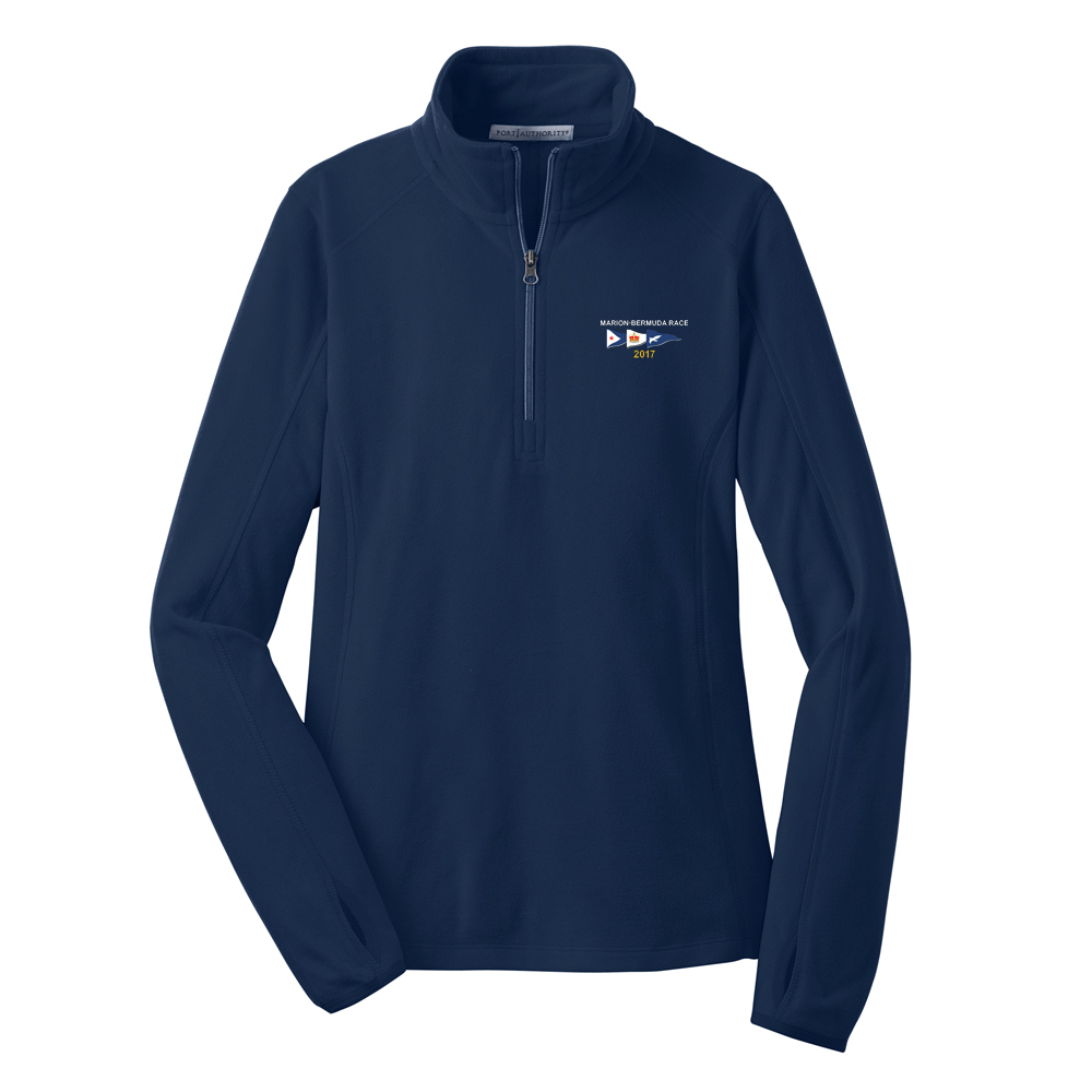 MARION-BERMUDA 2017 - Women's FLEECE 1/4 ZIP PULLOVER