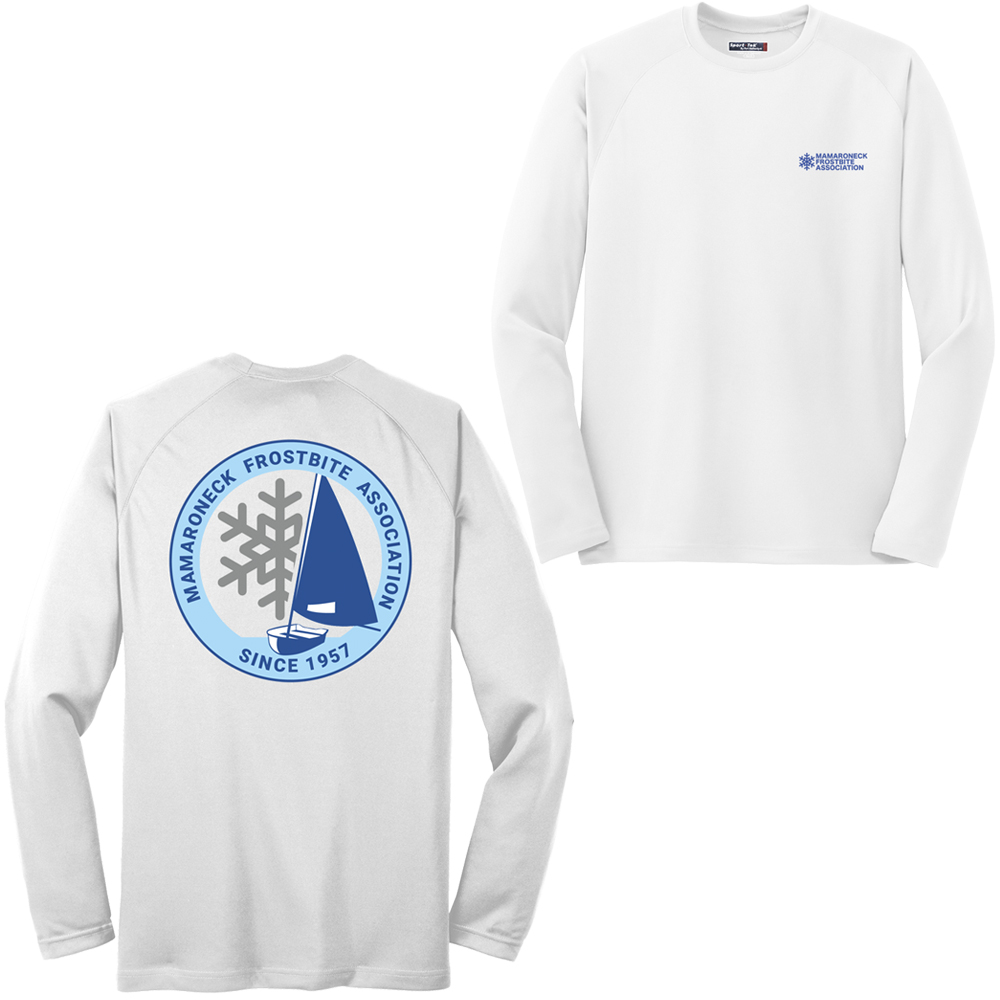 MAMARONECK FROSTBITE ASSOCIATION M'S L/S TECH TEE