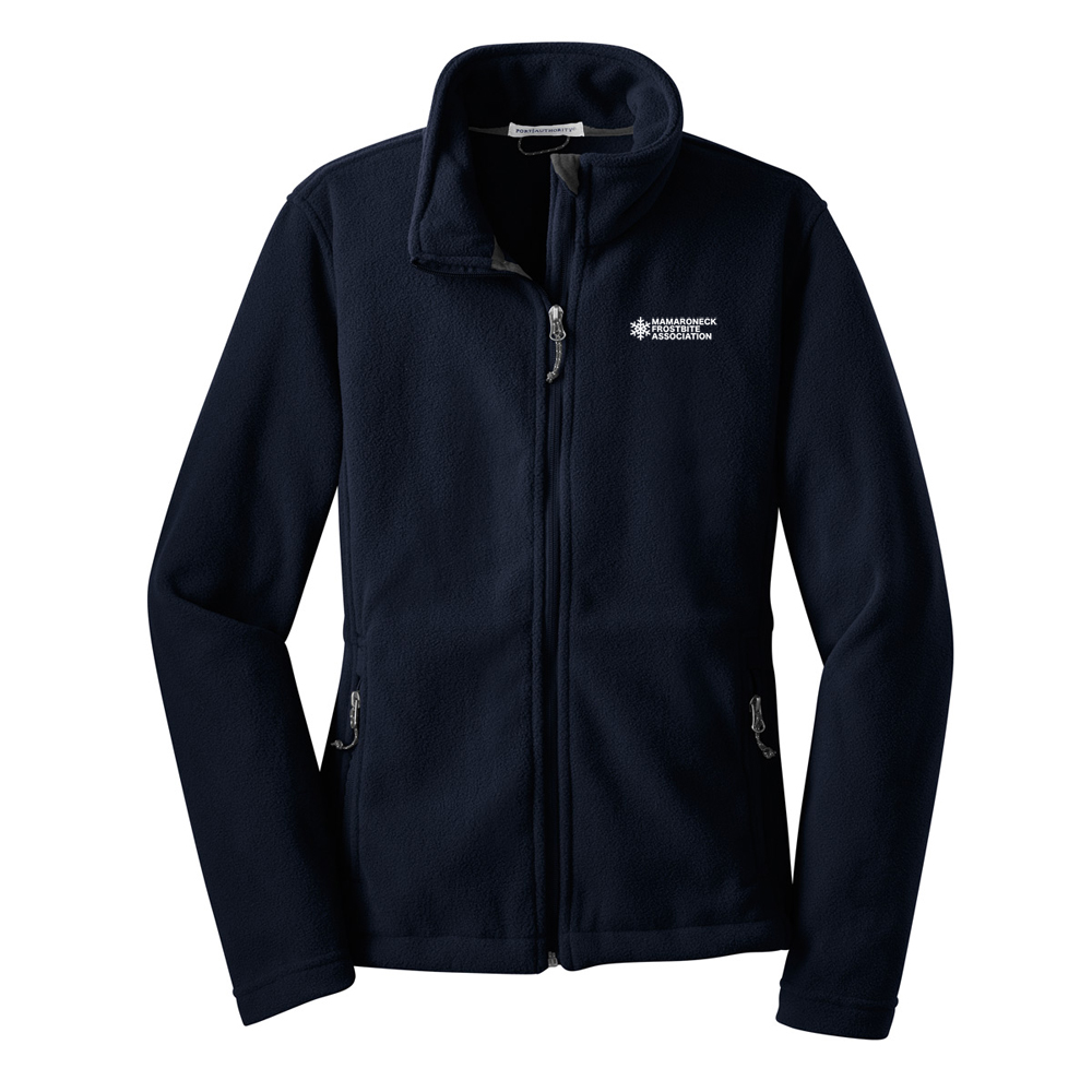 MAMARONECK FROSTBITE ASSOCIATION W'S FLEECE FULL ZIP JKT