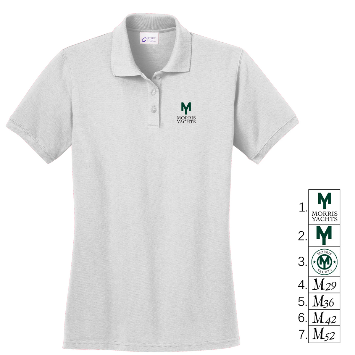 MORRIS YACHTS - WMNS COTTON POLO