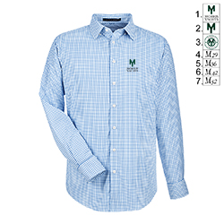 Morris Yachts - Men's Crown Lux Window Pane Shirt