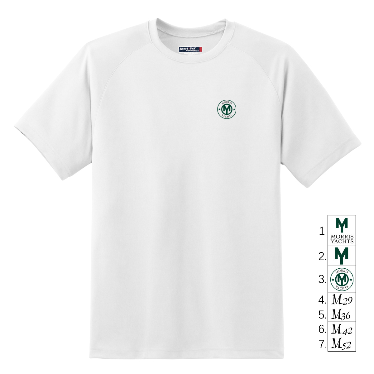 MORRIS YACHTS - MENS SHORT SLEEVE TECH TEE