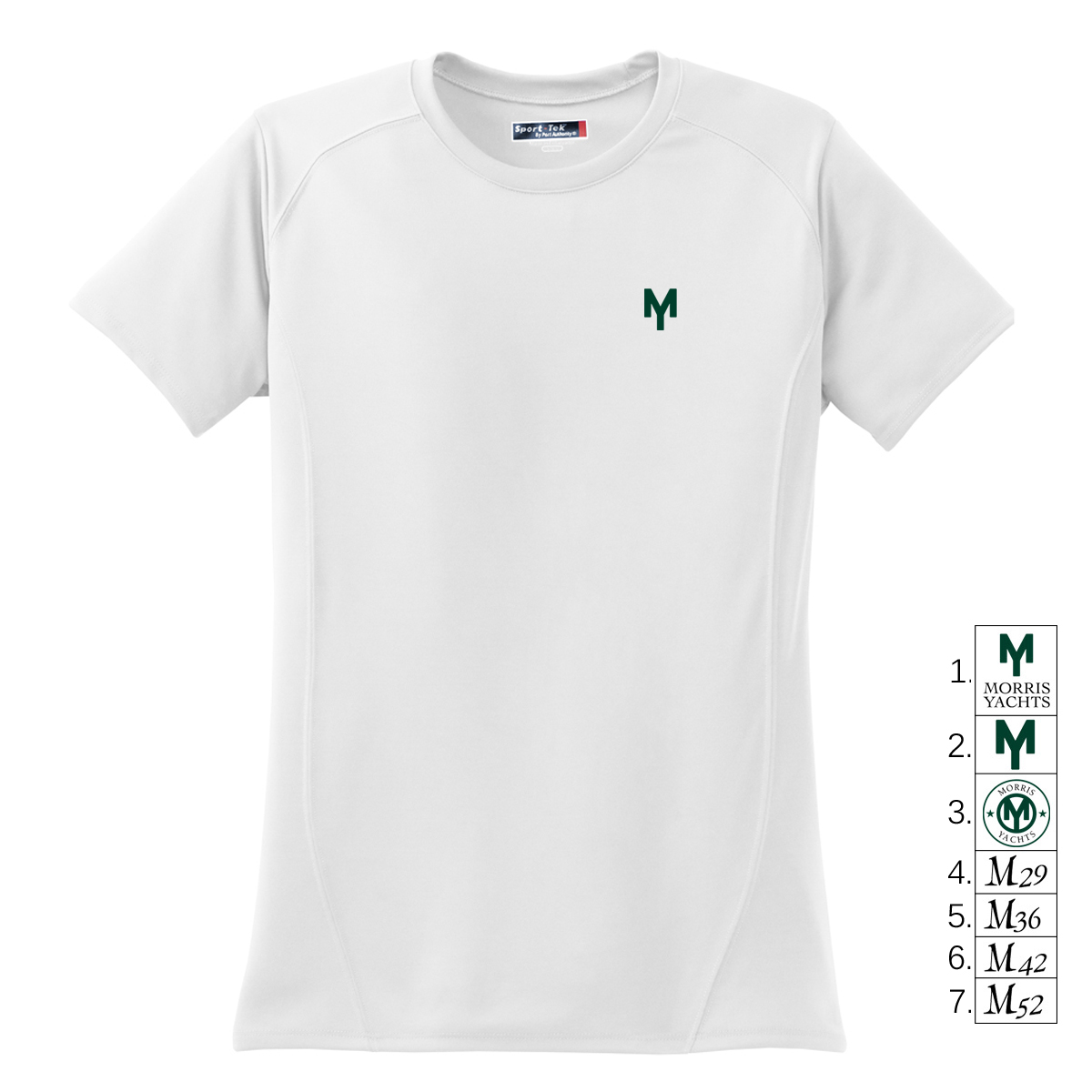 MORRIS YACHTS - WMNS SHORT SLEEVE TECH TEE